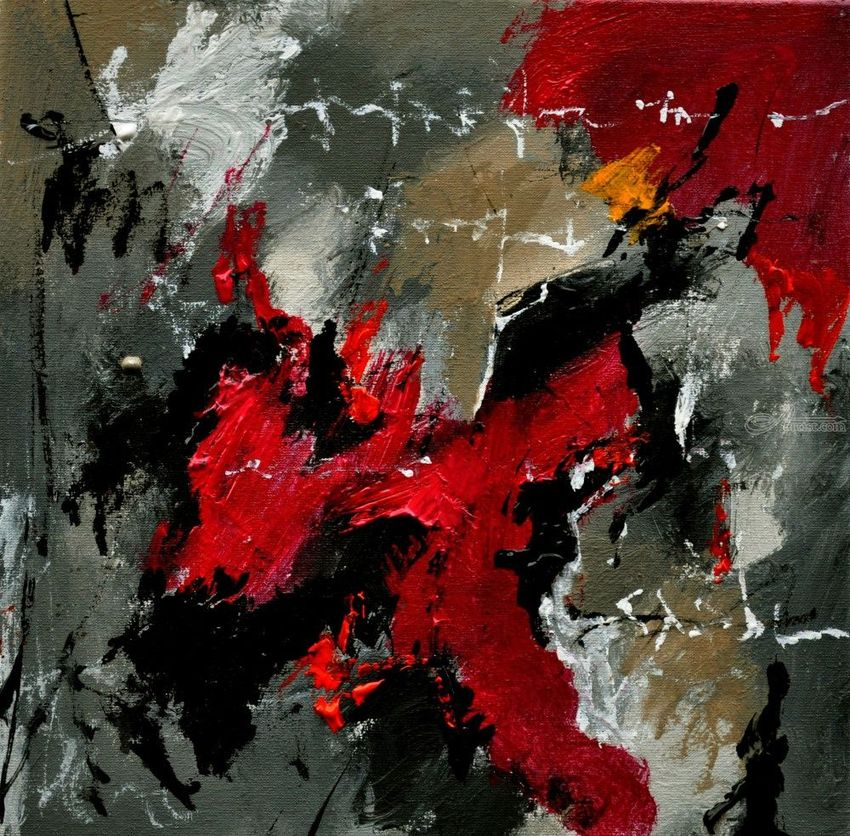abstract 3341201, Paintings, Abstract, Decorative, Canvas, By Pol Henry Ledent