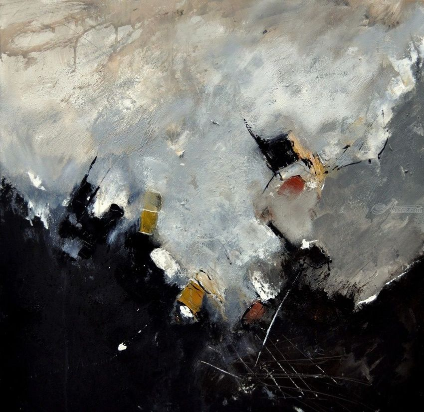 abstract 8841201, Paintings, Abstract, Decorative, Canvas, By Pol Henry Ledent