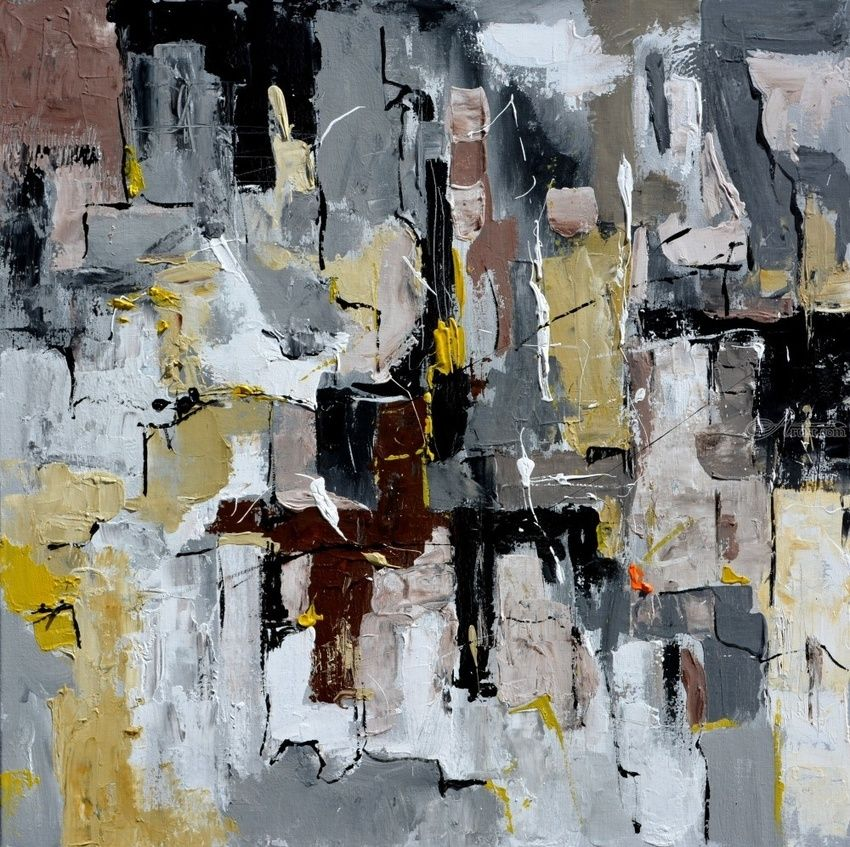 abstract 88516080, Paintings, Abstract, Decorative, Canvas, By Pol Henry Ledent