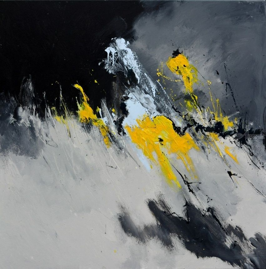 abstract 8861603, Paintings, Abstract, Decorative, Canvas, By Pol Henry Ledent