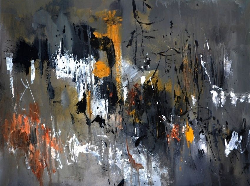 abstract 943, Paintings, Abstract, Decorative, Canvas, By Pol Henry Ledent