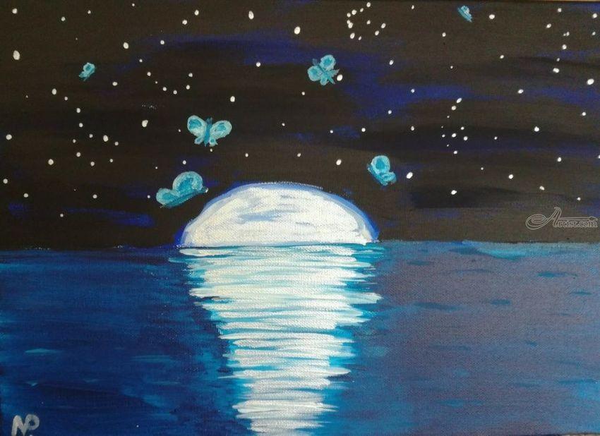 Teal Acrylic Paint