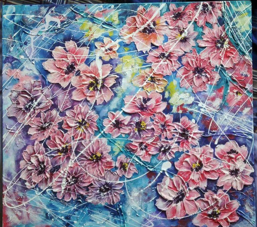 Air Flowers Drawings Sketch Paintings By Alexandra