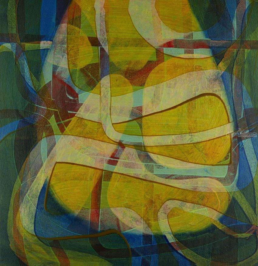 Amphora, Paintings, Abstract, Avant-Garde, Conceptual, Spiritual, Acrylic, By Matt Dominger