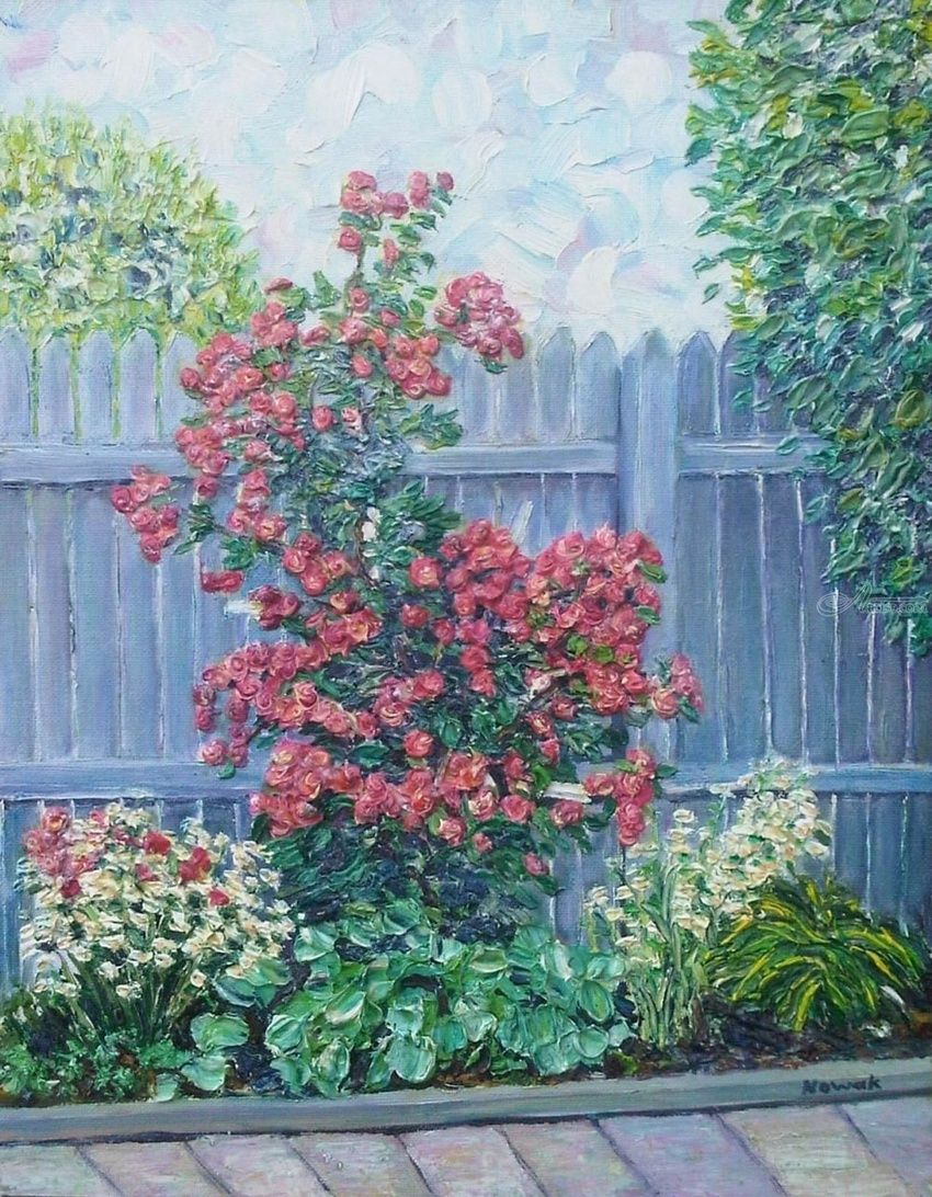 paintings by richard nowak impressionism realism floral