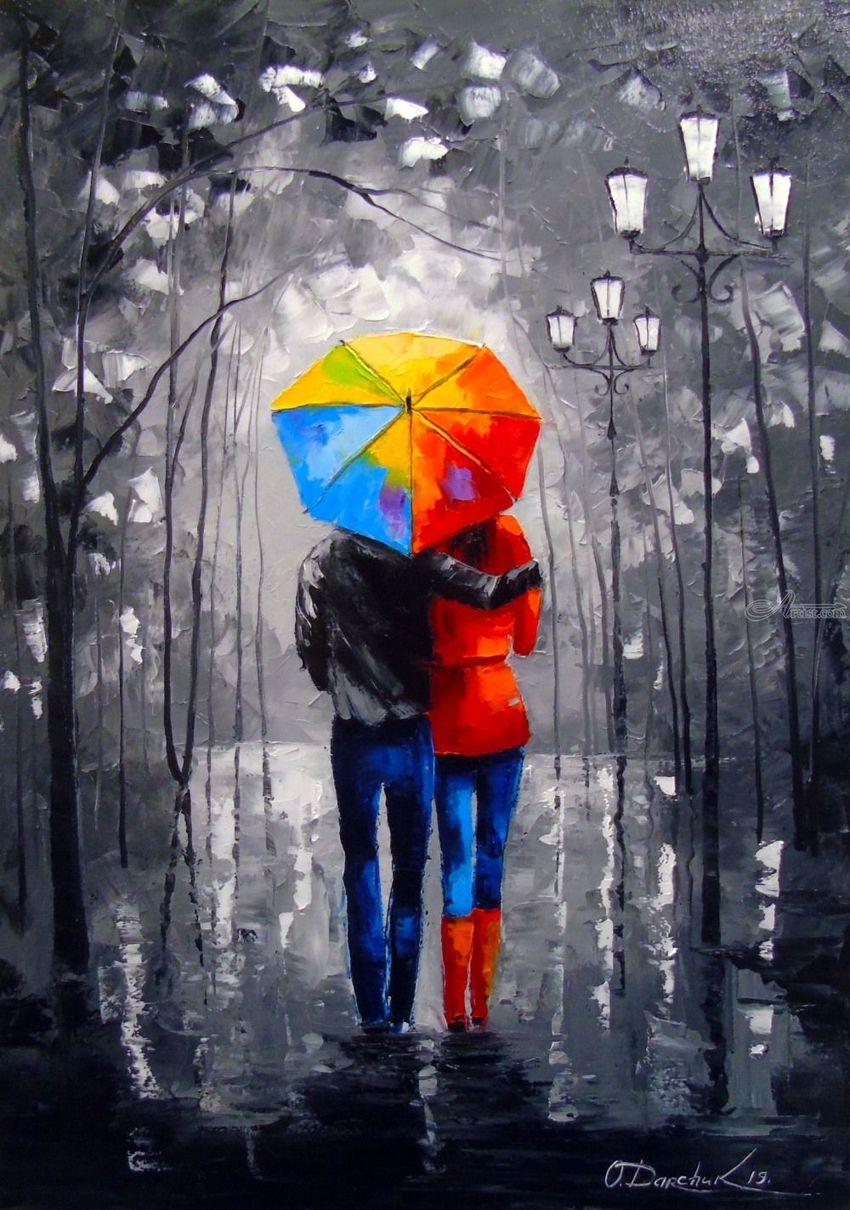 Bright Walk Paintings By Olha Darchuk Artist Com