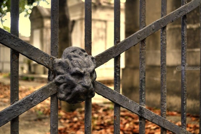Cemetery Gates, Photography, Fine Art, Grotesque,Historical,Memorial,Still Life, Digital, By Timothy Lowry