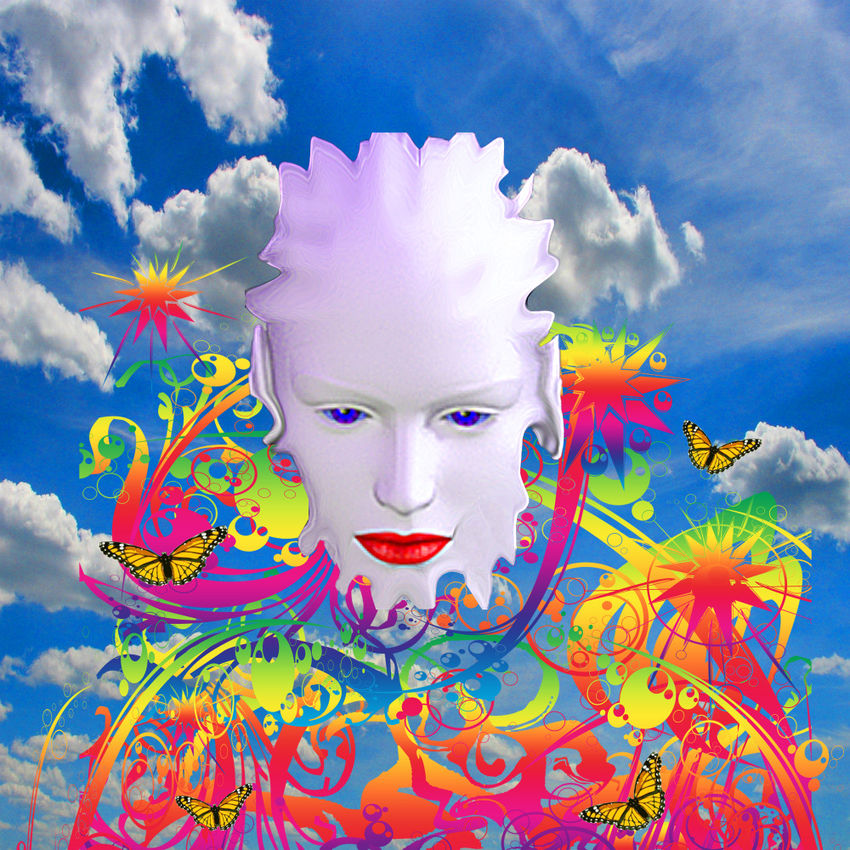 Cloud Dreamer, Digital Art / Computer Art, Commercial Design, Modernism, Surrealism, Avant-Garde, Fantasy, Portrait, Digital, By Matthew Lacey