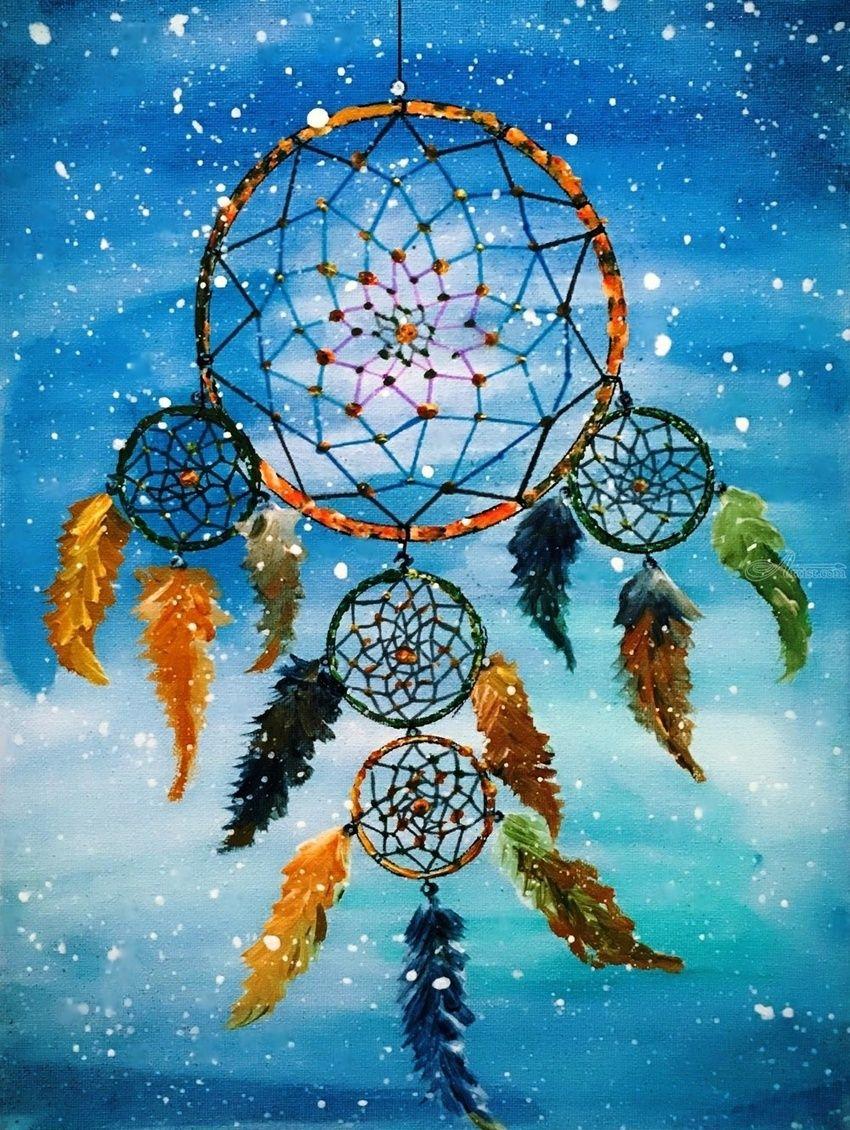 Who Created The Dream Catcher Paintings by HSIN LIN ModernismPop Art BotanicalSpiritual 20