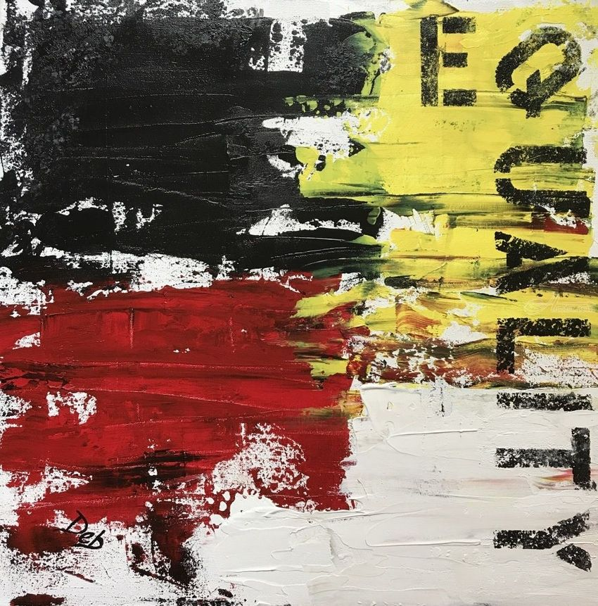 Equality, Paintings, Abstract, Conceptual, Acrylic, By Deb Schmidt