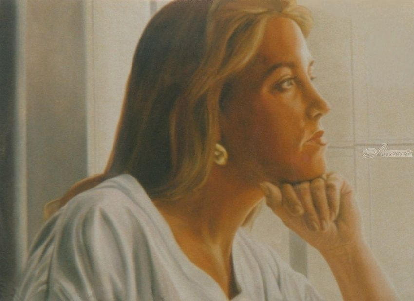 Expectations, Murals,Paintings, Fine Art,Realism, Daily Life,Documentary,Figurative,Inspirational,People,Portrait,Spiritual,Window on the World, Oil,Painting, By James Cassel