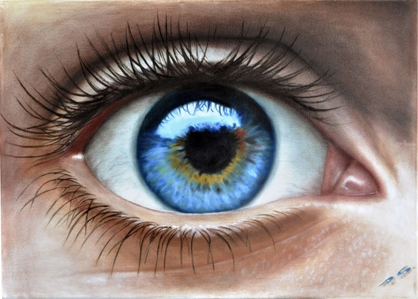 Eye 3d In Color Realism Stefan Pabst Artist Com