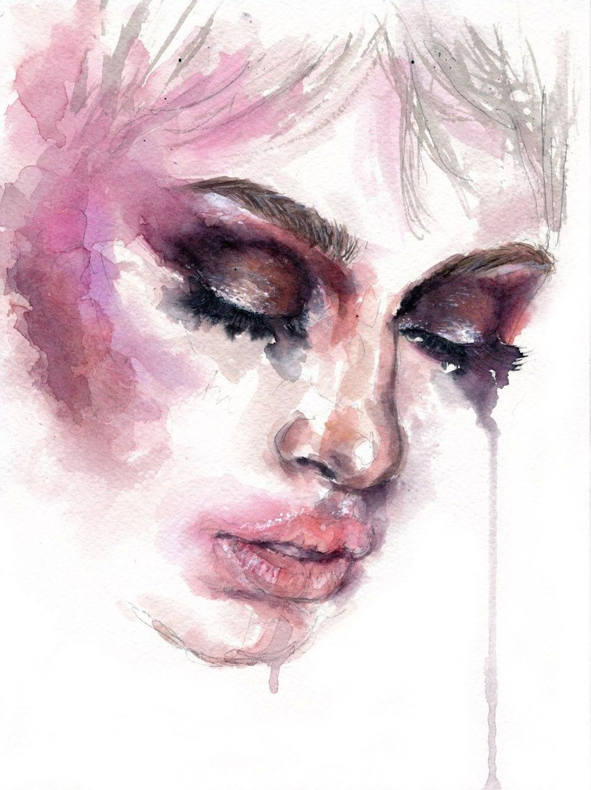 Face_004 Paintings by Doriana Popa - Artist com