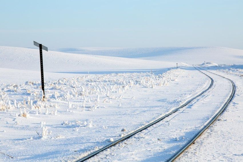 Frozen Track, Photography, Realism, Landscape, Digital, By Mike DeCesare