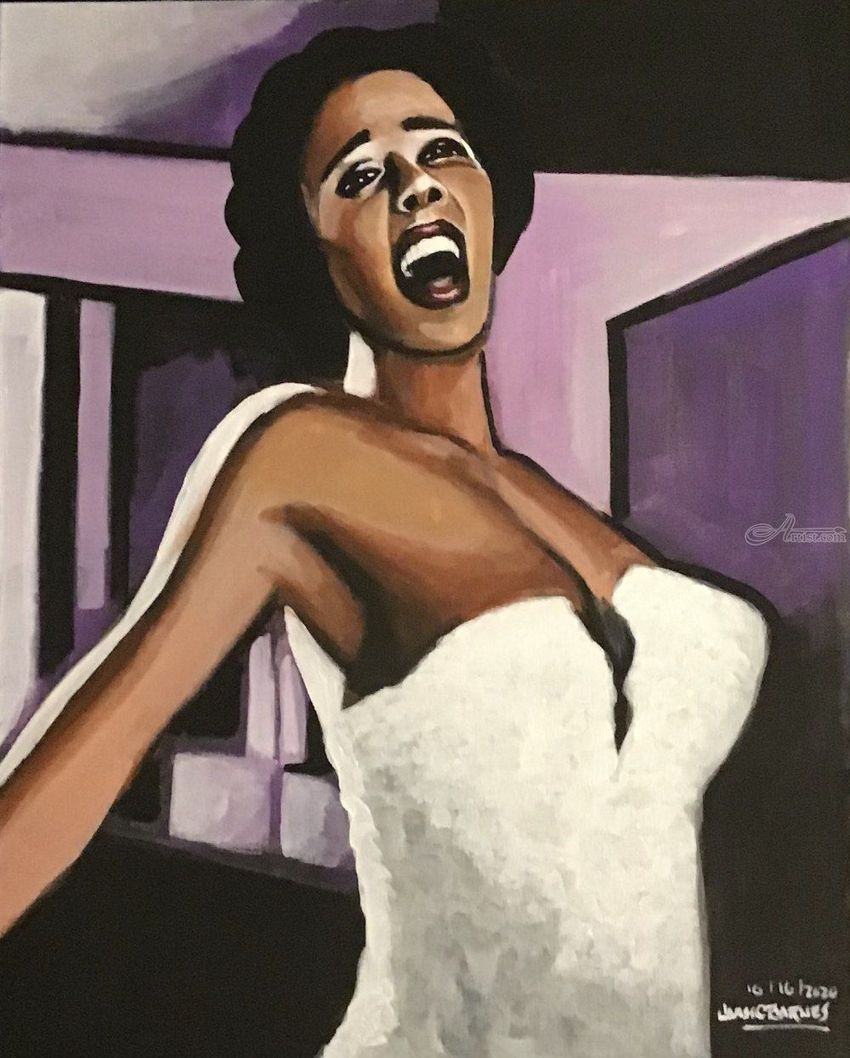 I'm Happy and I know it!, Paintings, Fine Art, Conceptual, Acrylic, By James Calvin Barnes
