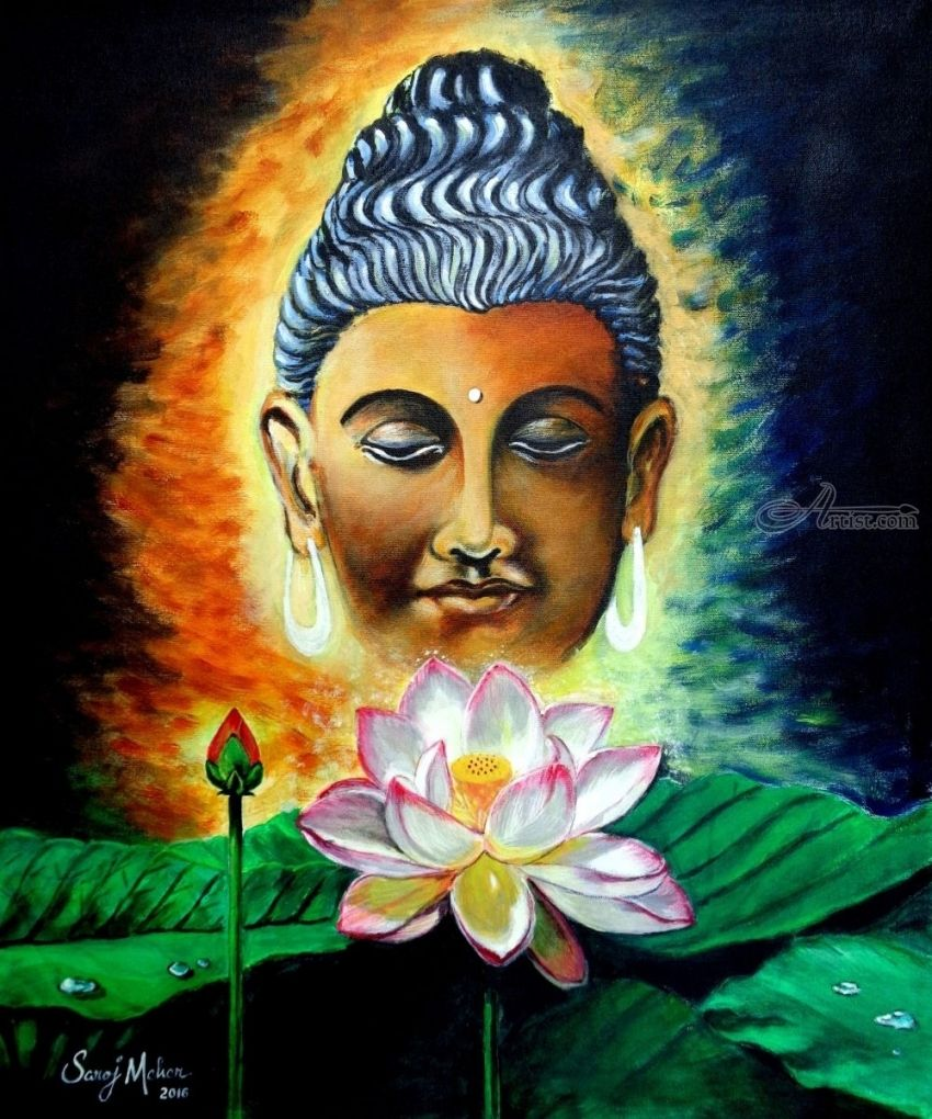 Lord Buddha Paintings ...