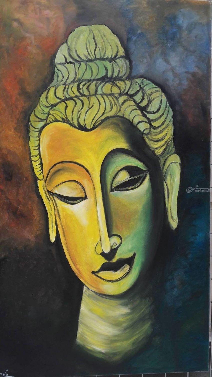 Lord buddha Paintings by Tecla Alahakoon - Artist.com