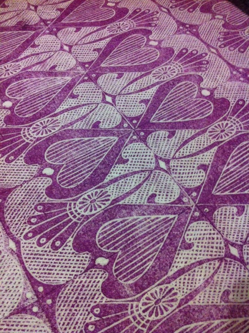 Love You Madly, Printmaking, Commercial Design, Inspirational, Fiber, By Melanie Brummer