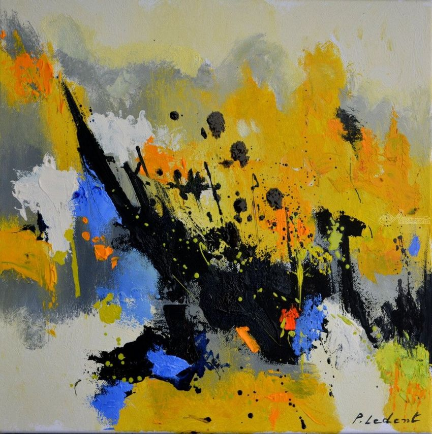Morning light 44, Paintings, Abstract, Decorative, Canvas, By Pol Henry Ledent