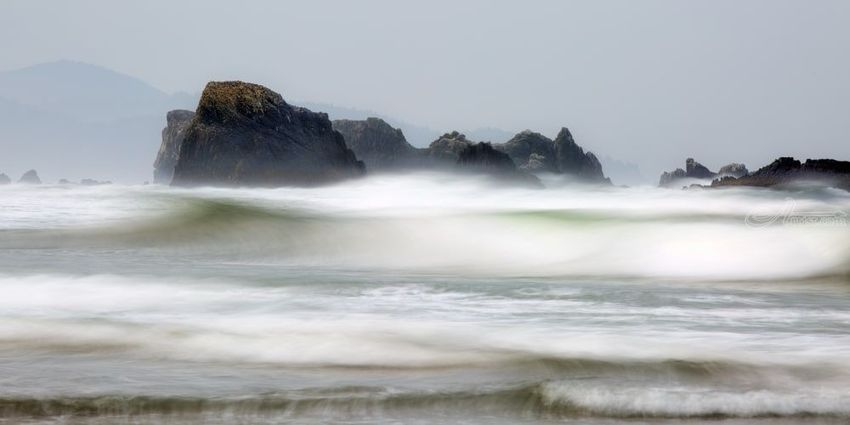 Morning Waves, Photography, Photorealism, Landscape, Seascape, Photography: Premium Print, By Mike DeCesare