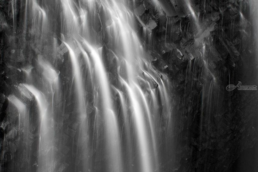 Narada Falls, Photography, Fine Art, Realism, Landscape, Digital, By Mike DeCesare