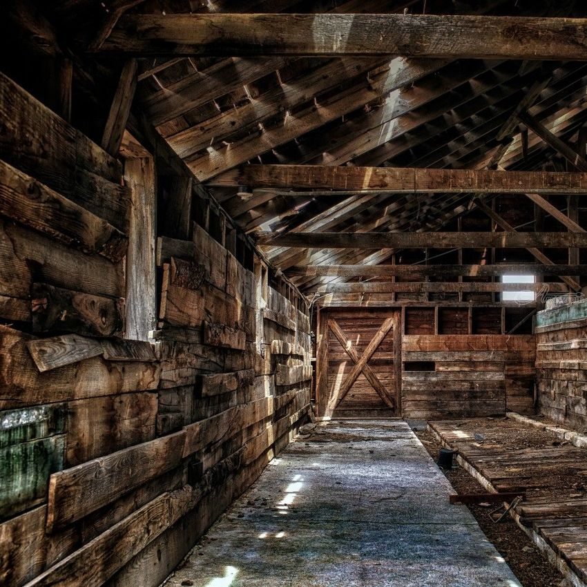 Old Barn, Photography, Photorealism, Architecture, Land Art, Photography: Premium Print, By Mike DeCesare