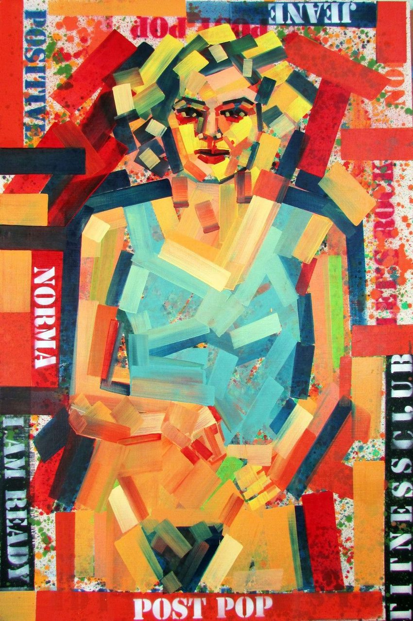 Private Secrets, Paintings, Pop Art, Figurative, Canvas,Oil,Spray Paint,Wood, By Piotr Ryszard Kachny