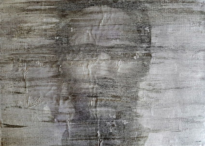 Riccardo (n.372), Paintings, Abstract, Portrait, Acrylic, By Alessio Mazzarulli