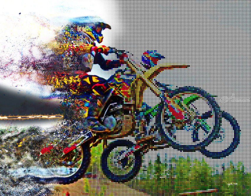 Ride With The Best, Digital Art / Computer Art, Drawings / Sketch, Paintings, Abstract, Moving Images, Digital, Painting, By Angelo