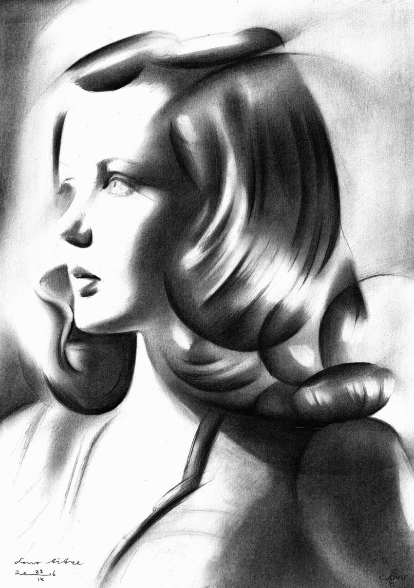 Sans titre - 23-09-16, Drawings / Sketch, Abstract,Cubism,Fine Art,Impressionism,Realism,Surrealism, Composition,Figurative,Inspirational,People,Portrait, Pencil, By Corne Akkers