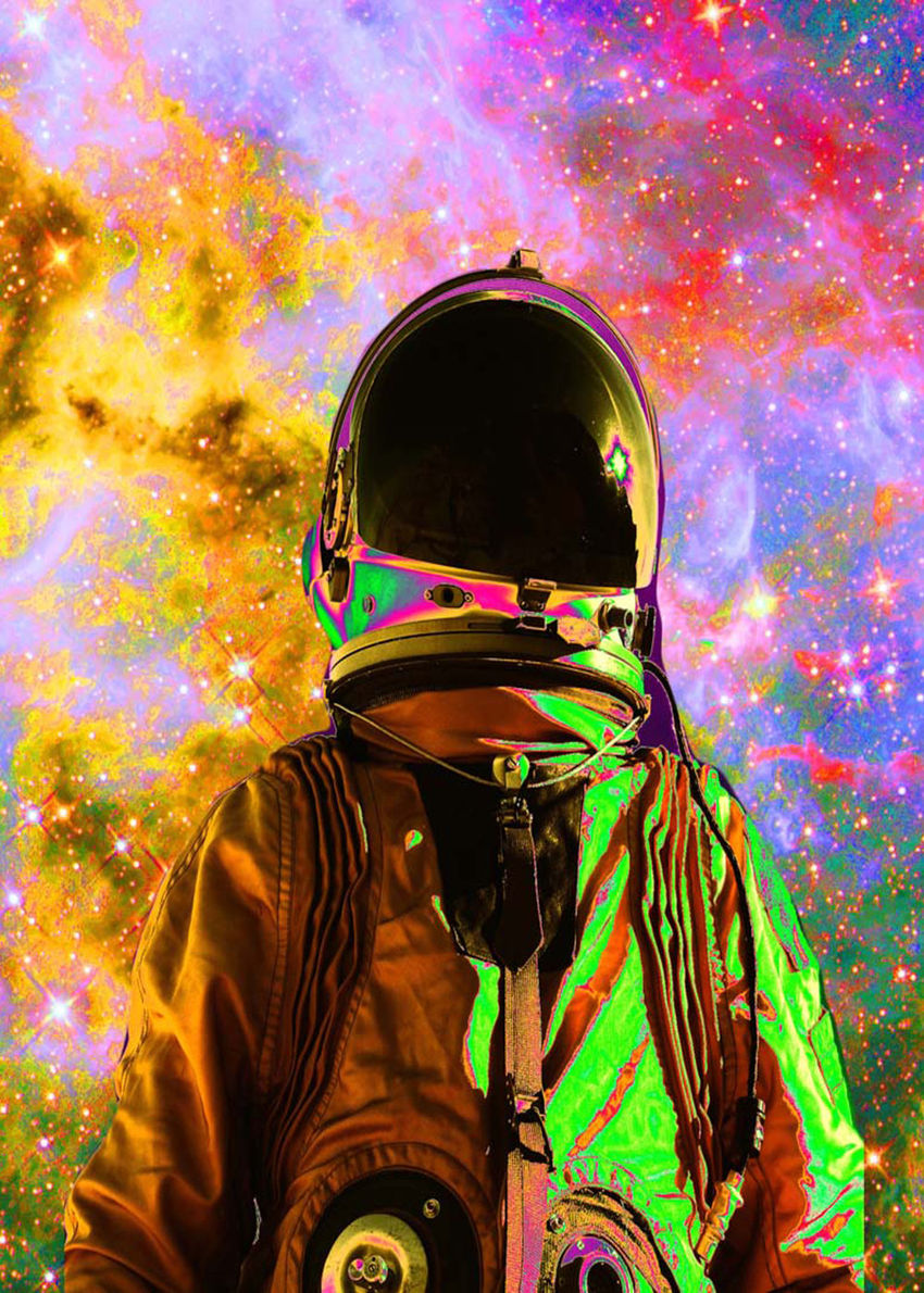 Starburst, Digital Art / Computer Art, Commercial Design, Hallucinogens, Modernism, Shock, Avant-Garde, Celestial / Space, Fantasy, Figurative, Digital, By Matthew Lacey