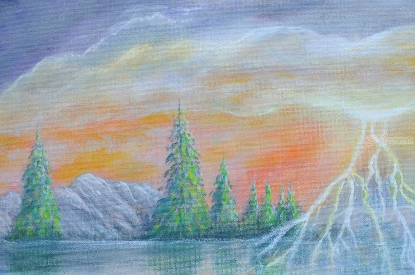 Stormy Weather Paintings by Julie Steinhauer - Artist.com