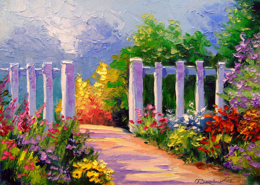 Summer day Paintings by Olha Darchuk - Artist.com
