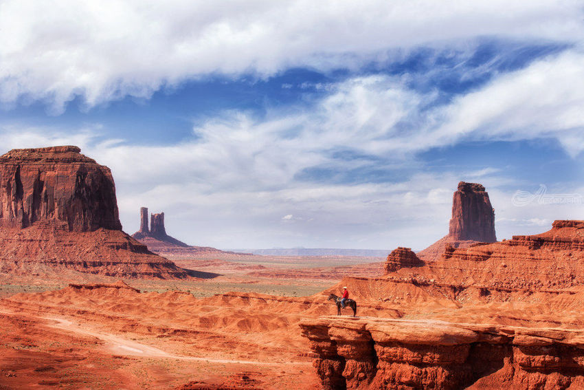The Cowboy, Photography, Photorealism, Landscape, Photography: Premium Print, By Mike DeCesare