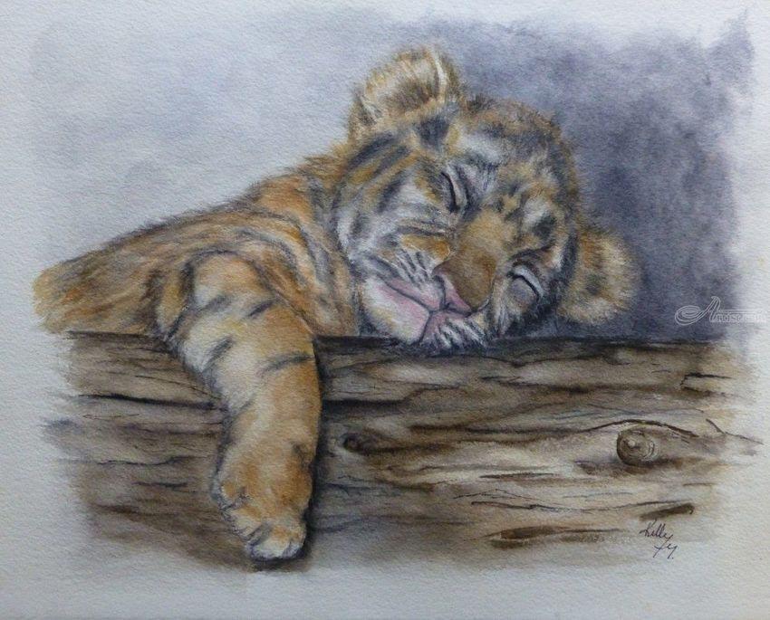 Animal In Fine Art Painting