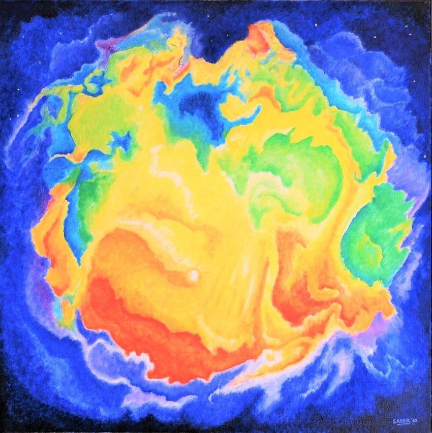 Universal Light Paintings by Susan Kerr - Artist.com
