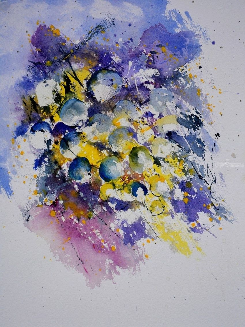 watercolor991, Paintings, Expressionism, Decorative, Watercolor, By Pol Henry Ledent