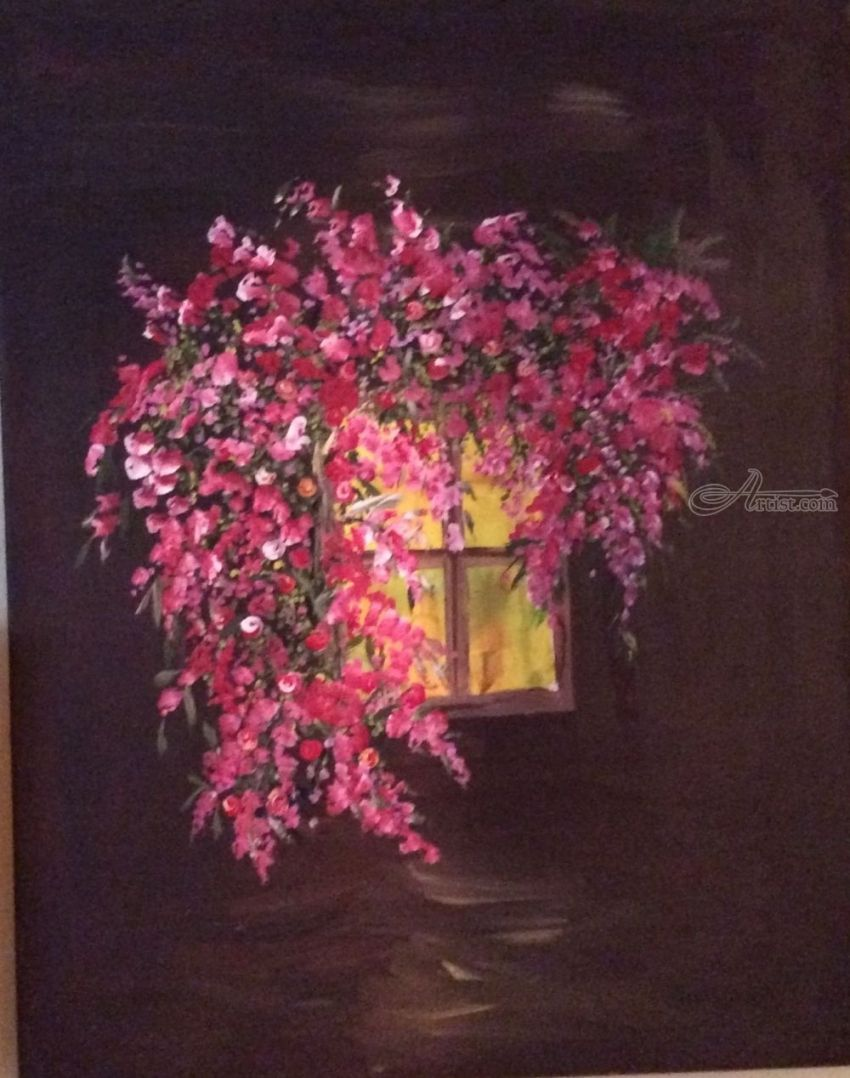 Window In The Dark Paintings By Zakia Siddiqui Artist Com