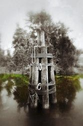 """Mississippi Pylon"" Limited<br>Edition, Photography, Fine Art, Landscape, Acrylic,Photography: Premium Print, By Chris Kay"