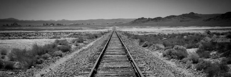"""Tracks through Trona"" Limited<br>Edition, Photography, Fine Art, Landscape, Acrylic,Photography: Premium Print, By Chris Kay"