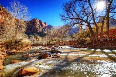 """Virgin River"" Limited Edition, Photography, Fine Art, Landscape, Acrylic,Photography: Premium Print, By Chris Kay"