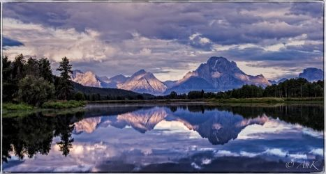Magnificent Moment: Grand<br>Teton National Park, Photography, Fine Art, Landscape, Mixed, By Anatoli Krasko