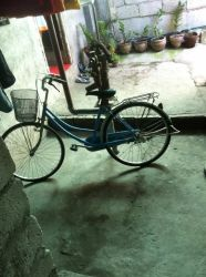MY BROTHER'S BIKE. JUST SIMPLY BIKE IN THE PHILIPPINES.