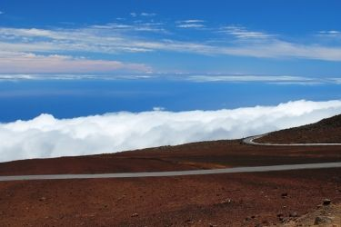 Road Above the Clouds, Photography, Fine Art, Landscape, Photography: Photographic Print, By Erin Carr