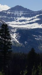 Lingering Mountain Snow, Photography, Photorealism, Landscape, Photography: Metal Print,Photography: Photographic Print,Photography: Premium Print,Photography: Stretched Canvas Print, By Tracey Vivar