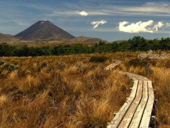 Mt Ngauruhoe 2, Photography, Fine Art, Landscape, Canvas,Photography: Photographic Print, By Ernest Wong