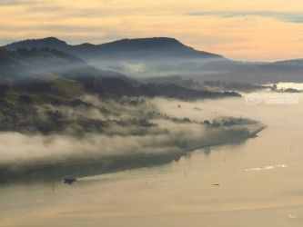 Otago Harbour 1, Photography, Fine Art, Landscape, Canvas,Photography: Photographic Print,Photography: Stretched Canvas Print, By Ernest Wong