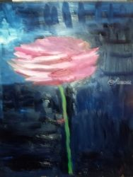 Rose, Paintings, Impressionism, Still Life, Oil, By MD Meiser