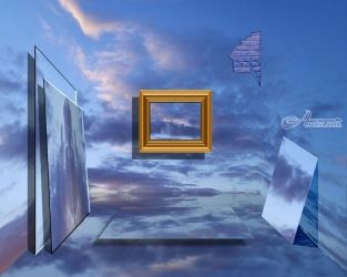 A ROOM OF ILLUSIONS, Photography, Surrealism, Fantasy, Digital, By Alan King