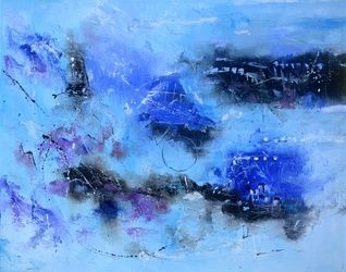 abstract 1087120, Paintings, Abstract, Decorative, Canvas, By Pol Ledent